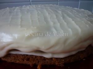 Torta de Zanahorias con frosting de Queso Crema