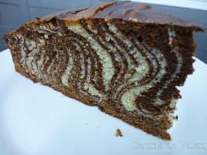 Bizcocho Cebra - Cocina de Valen