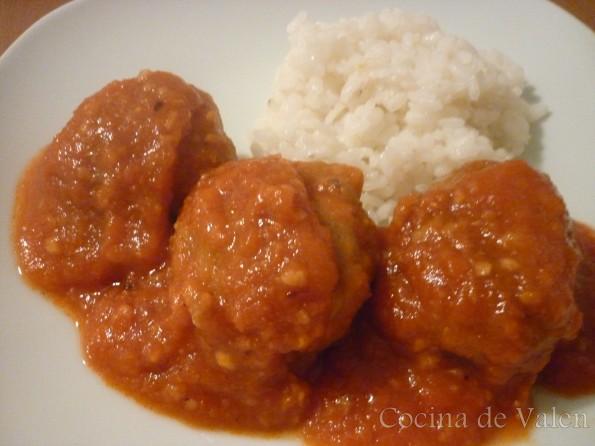 Albóndigas en Salsa de Tomate - Cocina de Valen