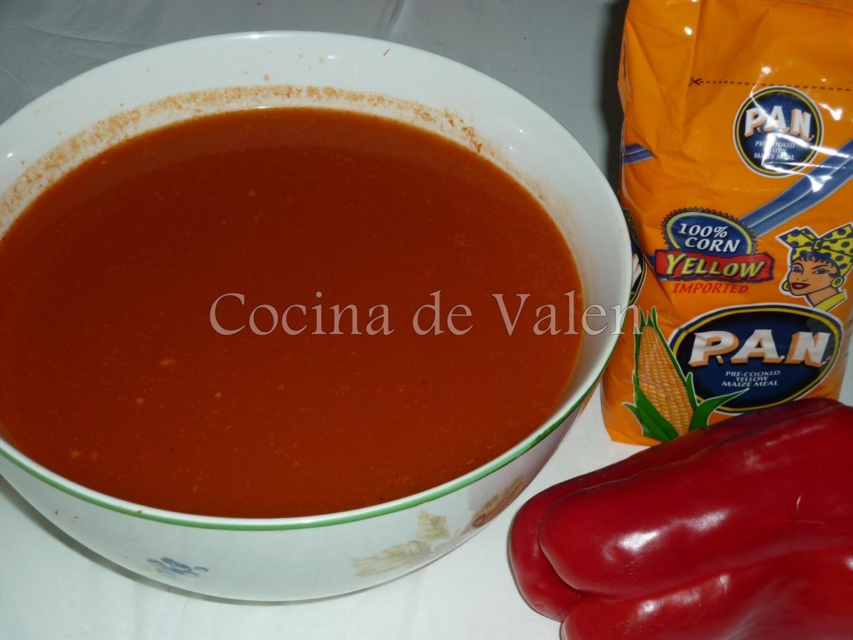 Masa de Hallacas - Cocina de Valen