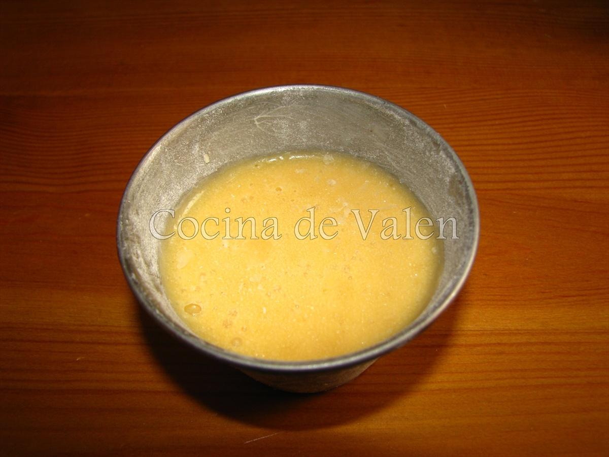 Coulant de Chocolate Blanco - Cocina de Valen