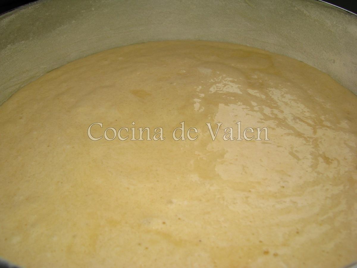 Bizcocho de coco - Cocina de Valen