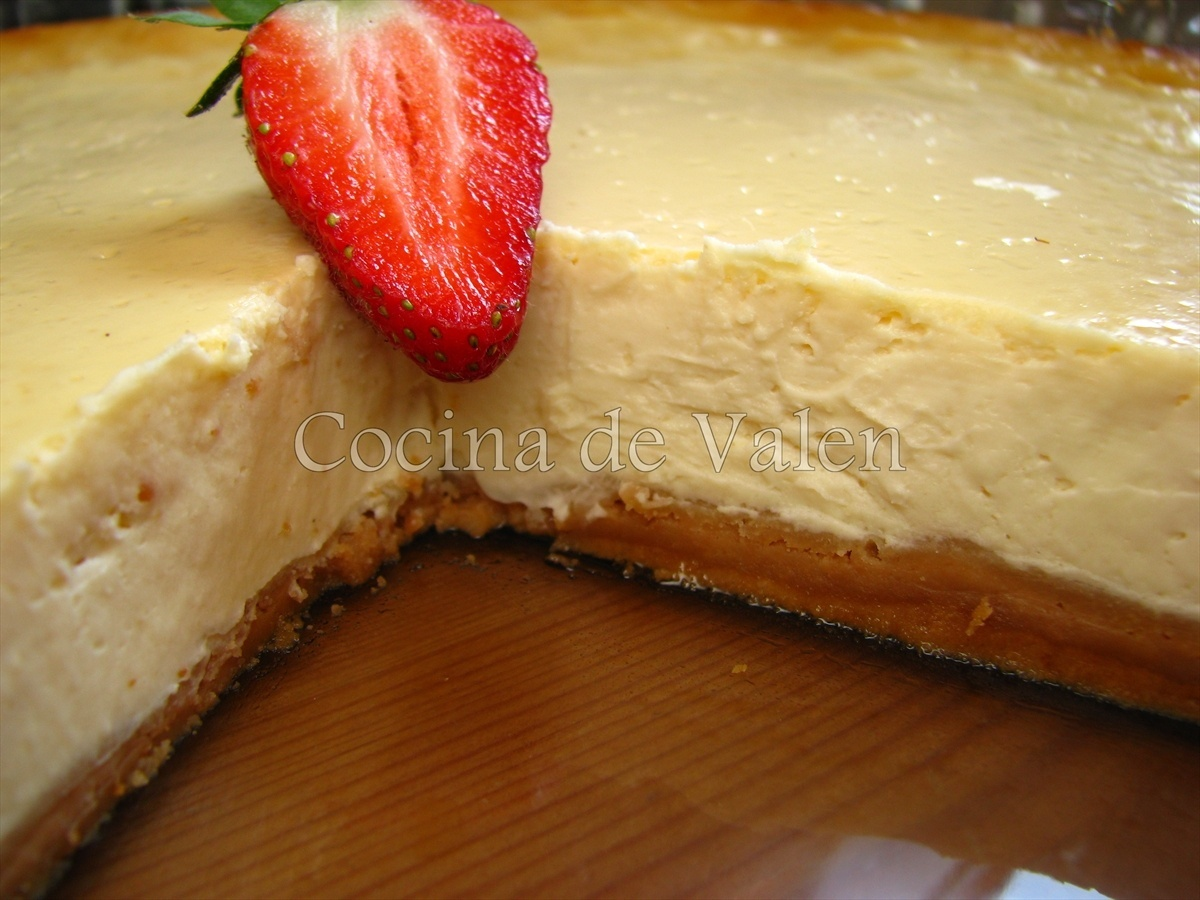 New York Cheese Cake - Cocina de Valen
