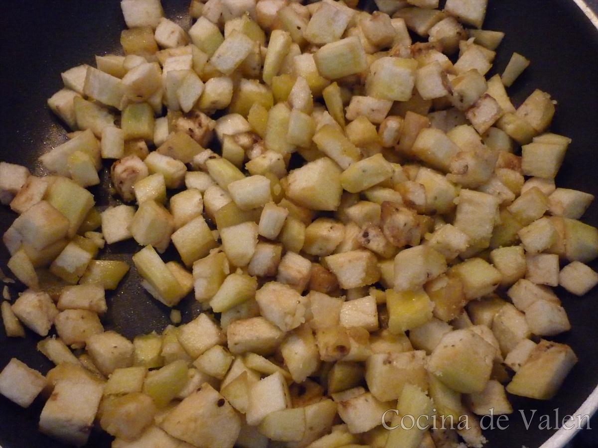 Berenjenas al ajillo - Cocina de Valen