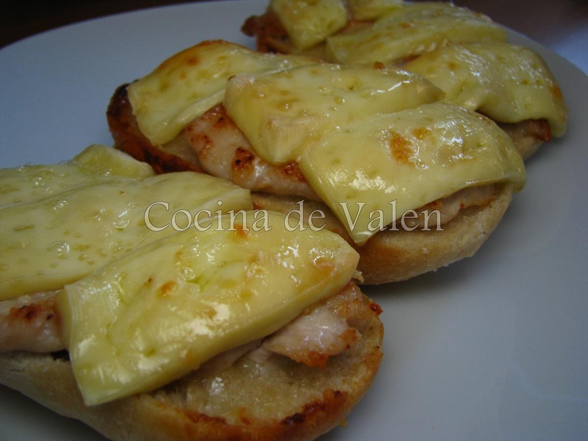 Tapas de pollo y queso brie cocina de valen - Tapas faciles de hacer ...