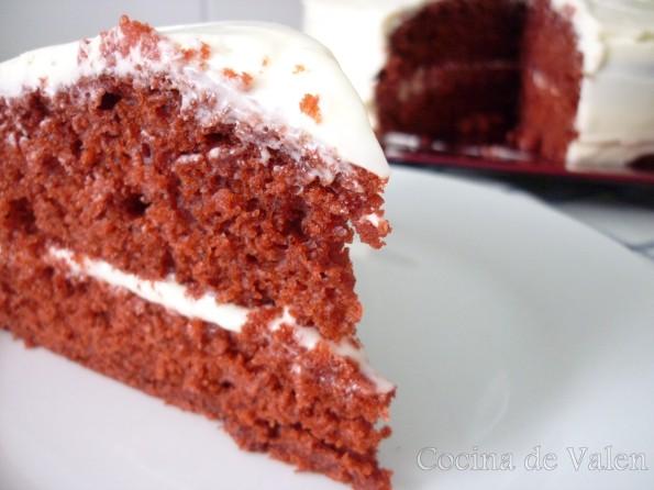 Tarta Red Velvet - Cocina de Valen