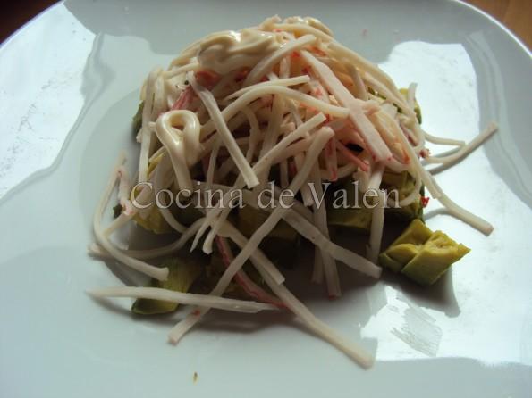 Ensalada de Aguacate y Cangrejo - Cocina de Valen