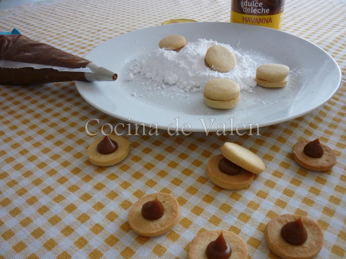 Cómo hacer unos alfajores - Cocina de Valen