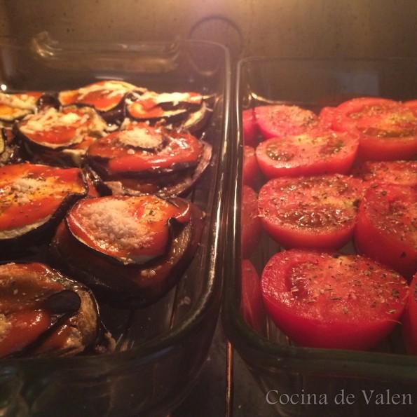 Tomates al horno - Cocina de Valen