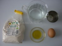Ingredientes galette